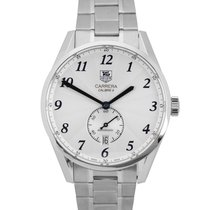 TAG Heuer Carrera Calibre 6 Steel 39mm Silver Arabic numerals United States of America, New York, Smithtown