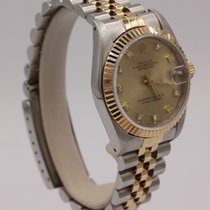 Rolex Lady-Datejust Золото/Cталь 31mm Без цифр