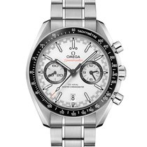 Omega Speedmaster Racing Steel White No numerals United States of America, New York, New York