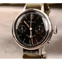 Leonidas Steel 50mm Chronograph pre-owned