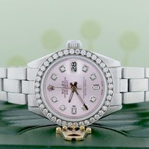Rolex Lady-Datejust Acél 26mm Pink