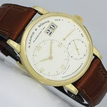 A. Lange & Söhne Little Lange 1 Yellow gold 36mm Silver (solid) Roman numerals