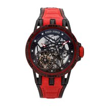 Roger Dubuis new Manual winding Skeletonized Limited Edition PVD/DLC coating 45mm Titanium