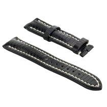 Breitling Parts/Accessories 536-6 new Lizard skin Black