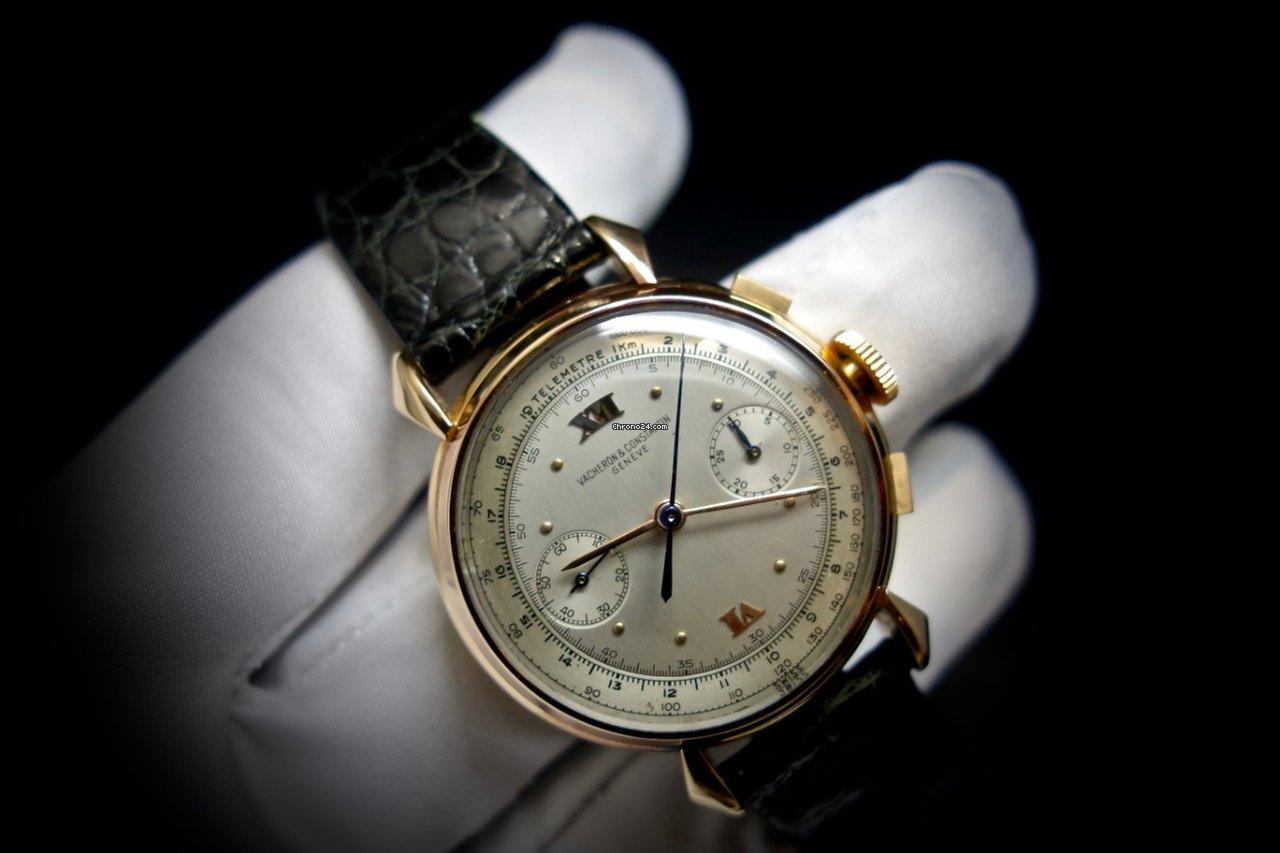 Vacheron Constantin Chronograph Ref 4178 Rose Gold 2 Tone