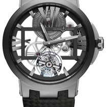 Ulysse Nardin Executive Skeleton Tourbillon Titanium 45mm Roman numerals