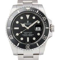 Rolex Submariner Date Steel Ceramic Black Dial 116610LN NEW