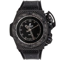 Hublot Carbon Automatic Black No numerals 48mm pre-owned King Power