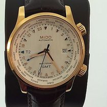Mido Multifort Gent GMT Brown Strap Cities M0059293603100