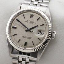 Rolex Datejust Edelstahl Weissgold Automatic Herrenuhr Service