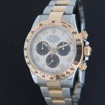 Rolex Daytona Gold/Steel Panda Dial 116523