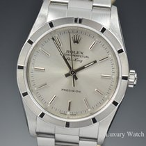 Rolex Air King Precision Silver Dial Automatic 14010M Z Serial