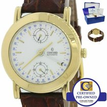Concord Yellow gold 36mm Automatic 50B2210 pre-owned