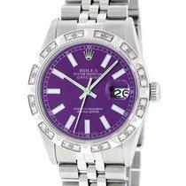 Rolex Datejust Acero 36mm Violeta