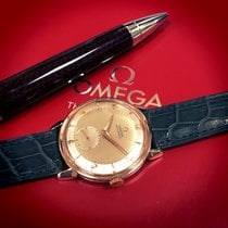 Omega Rose gold Automatic Silver 34mm pre-owned