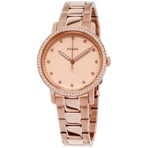 Fossil Neely Rose Gold Dial Stainless Steel Ladies Watch Es4288
