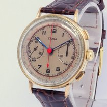 Doxa Chronograph 36.5mm Manual winding pre-owned Champagne