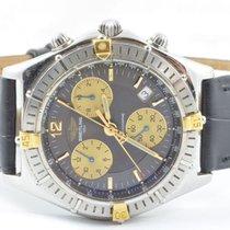 Breitling Chrono Sirius Herren Uhr Quartz 39mm B53011 Stahl/go...