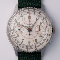 Breitling Chronomat Steel 37mm Champagne Arabic numerals