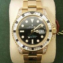 Rolex 116758SANR Yellow gold GMT-Master II