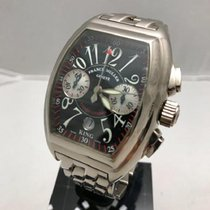 Franck Muller 8005 CC King White gold 2004 Conquistador 40mm pre-owned