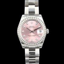 Rolex Lady-Datejust nuevo Automático Reloj con estuche y documentos originales 178384 G
