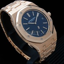 Audemars Piguet 15202OR.OO.1240OR.01 Roségold 2016 Royal Oak Jumbo 39mm gebraucht