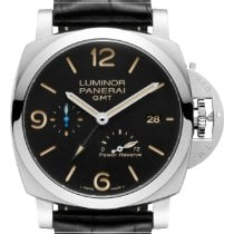 Panerai PAM 01321 Steel 2019 Luminor 1950 3 Days GMT Power Reserve Automatic 44mm new United States of America, New York, New York