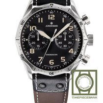 Junghans Meister Pilot new 2019 Automatic Chronograph Watch with original box and original papers 027/3591.00