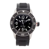 Jaeger-LeCoultre Master Compressor Diving Automatic Navy SEALs Stahl 42mm Schwarz Arabisch