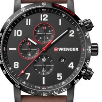 Wenger Steel 44mm Quartz 01.1543.107 new