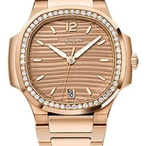 Patek Philippe Nautilus Rose gold 35.2mm Gold No numerals United States of America, New York, New York