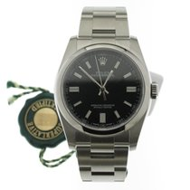 Rolex Oyster Perpetual 36 Acero 36mm Negro Sin cifras
