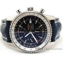 Breitling Navitimer GMT Steel 46mm Black United States of America, Florida, Aventura