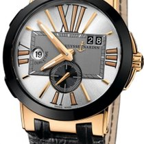 Ulysse Nardin Executive Dual Time 246-00/421 new