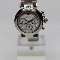 Cartier Pasha C Steel 36mm White Arabic numerals United States of America, California, SAN DIEGO