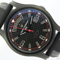 Cuervo y Sobrinos pre-owned Automatic 43mm Black Sapphire crystal 10 ATM