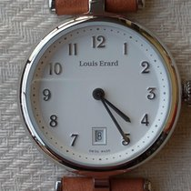 Louis Erard Romance Steel 30mm Arabic numerals