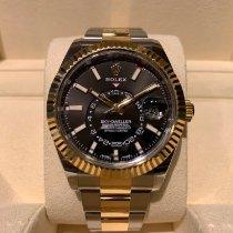 Rolex Sky-Dweller 326933 Very good Gold/Steel 42mm Automatic