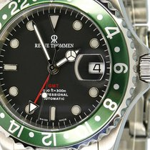 Revue Thommen new Automatic Rotating Bezel Screw-Down Crown Only Original Parts 42mm Steel Sapphire crystal