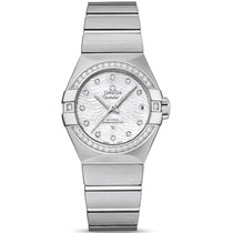 Omega Constellation Ladies Steel 27mm Mother of pearl No numerals United Kingdom, London