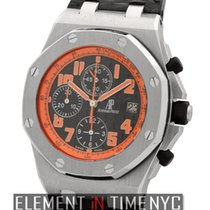 Audemars Piguet Royal Oak Offshore Chronograph Volcano Steel 42mm Arabic numerals