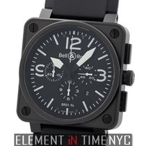 Bell & Ross BR 01-94 Chronographe Steel 46mm Black Arabic numerals United States of America, New York, New York