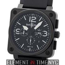 Bell & Ross BR 01-94 Chronographe Steel 46mm Arabic numerals United States of America, New York, New York