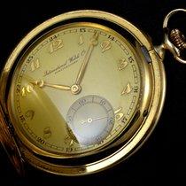 IWC Schaffhausen double 14k gold 50 micron - 1916
