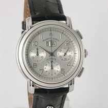 Maurice Lacroix Chronograph 40mm Automatic 2000 pre-owned Masterpiece (Submodel) Silver