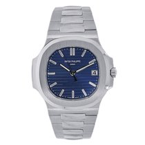 Patek Philippe 40mm Automatic new Nautilus Blue