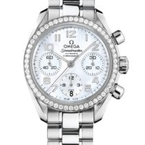 Omega 324.15.38.40.05.001 Steel 2020 Speedmaster Ladies Chronograph 38mm new