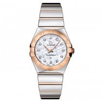 Omega Constellation Quartz Gold/Steel 27mm Mother of pearl United States of America, Iowa