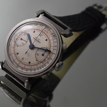 TAVANNES CYMA Oversize Stainless Steel Chronograph Stepped...